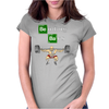 Bending Bars - Breaking Bad parody Womens Fitted T-Shirt