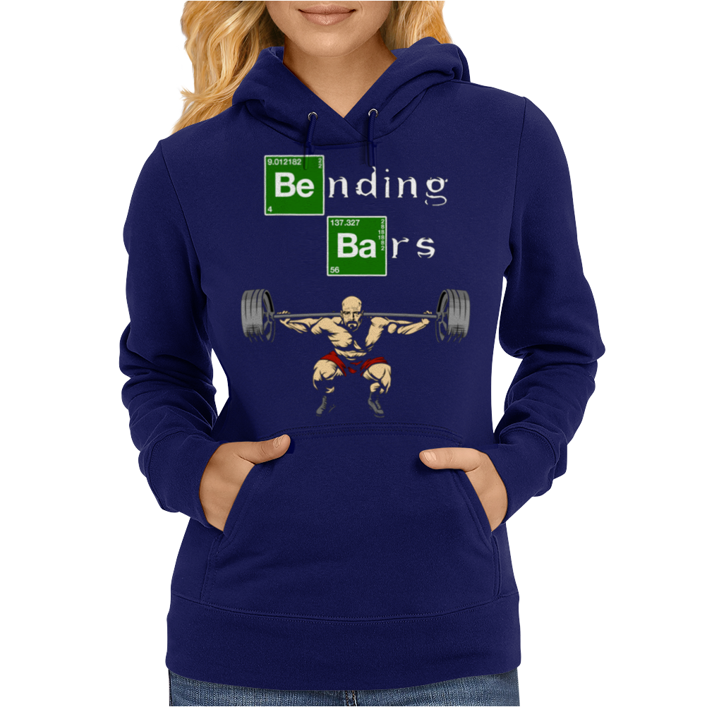 Bending Bars - Breaking Bad parody Womens Hoodie