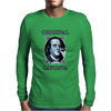 Benjamin Franklin Original Gangster Mens Long Sleeve T-Shirt