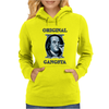 Benjamin Franklin Original Gangster Womens Hoodie