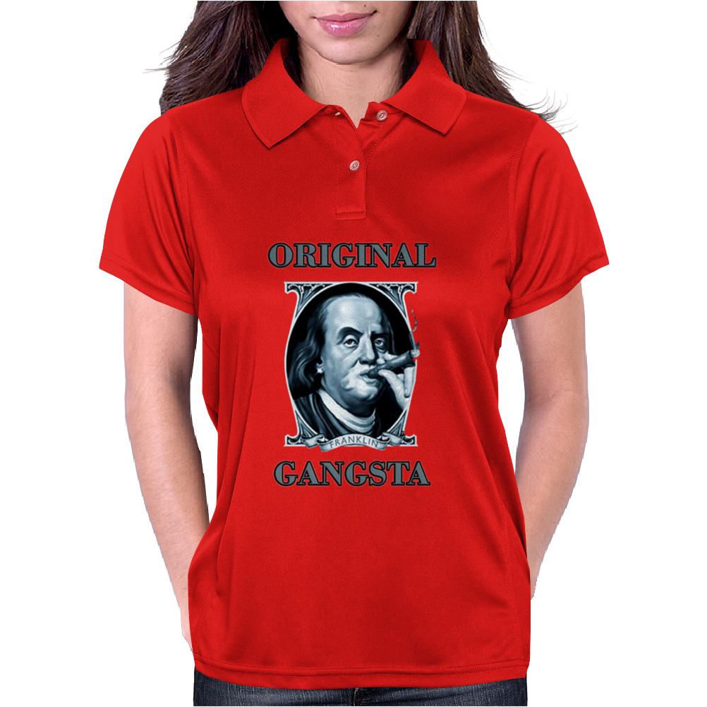 Benjamin Franklin Original Gangster Womens Polo