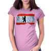 Berlin Flagge Womens Fitted T-Shirt
