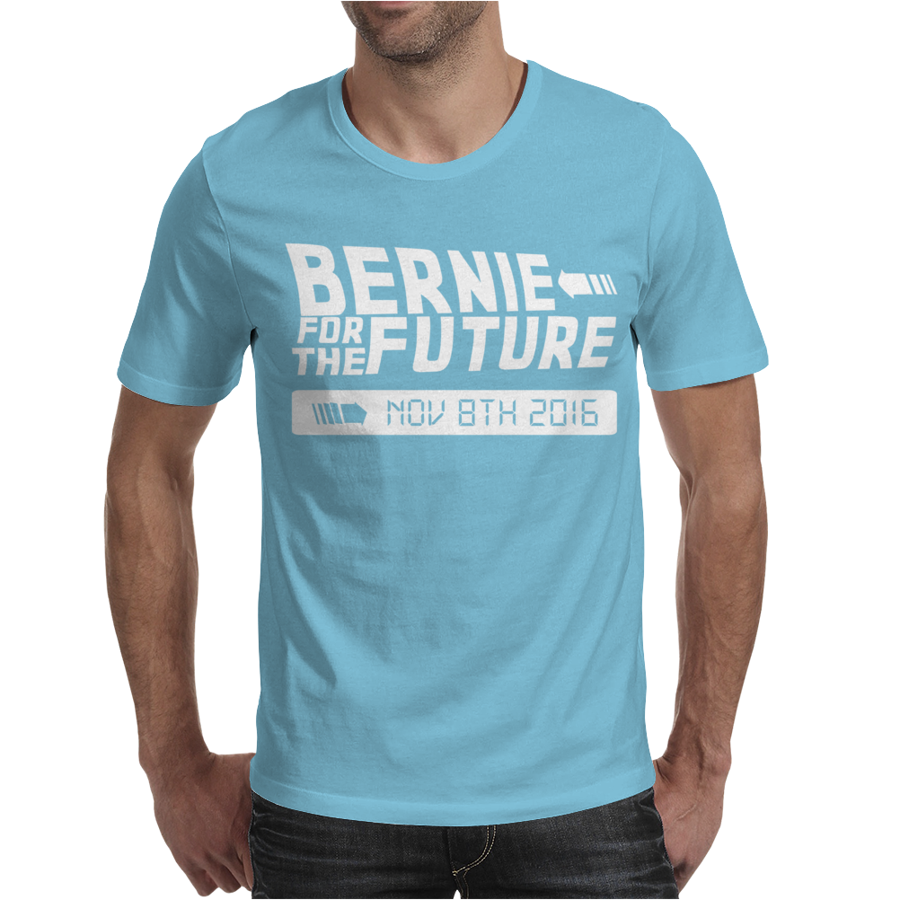 Bernie For The Future Mens T-Shirt