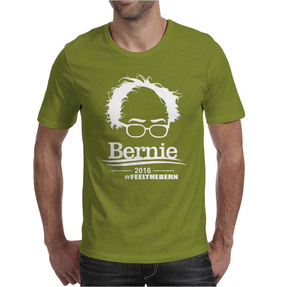 Bernie Sanders 2016 for president Election Campaign Mens T-Shirt