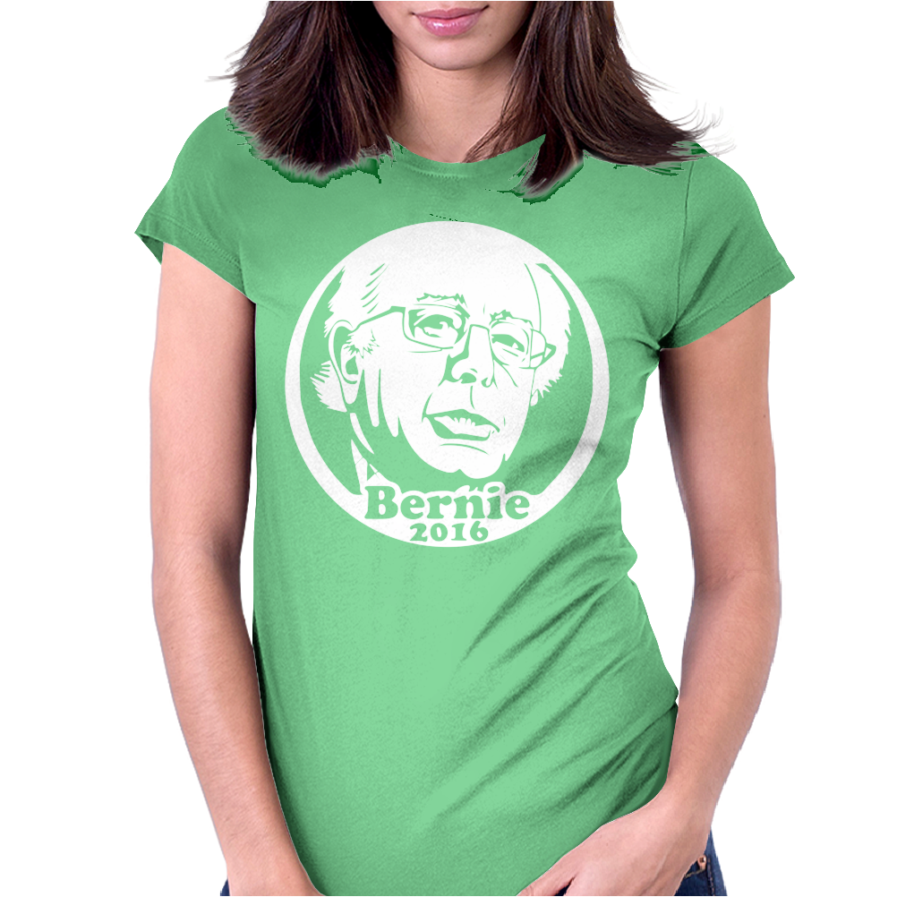 Bernie Sanders For President 2016 Womens Fitted T-Shirt