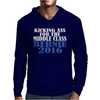 BERNIE SANDERS KICKING ASS FOR MIDDLE CLASS PRESIDENT Mens Hoodie