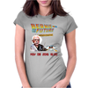 Bernie to the Future Womens Fitted T-Shirt