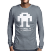 Berzerk Robot Mens Long Sleeve T-Shirt