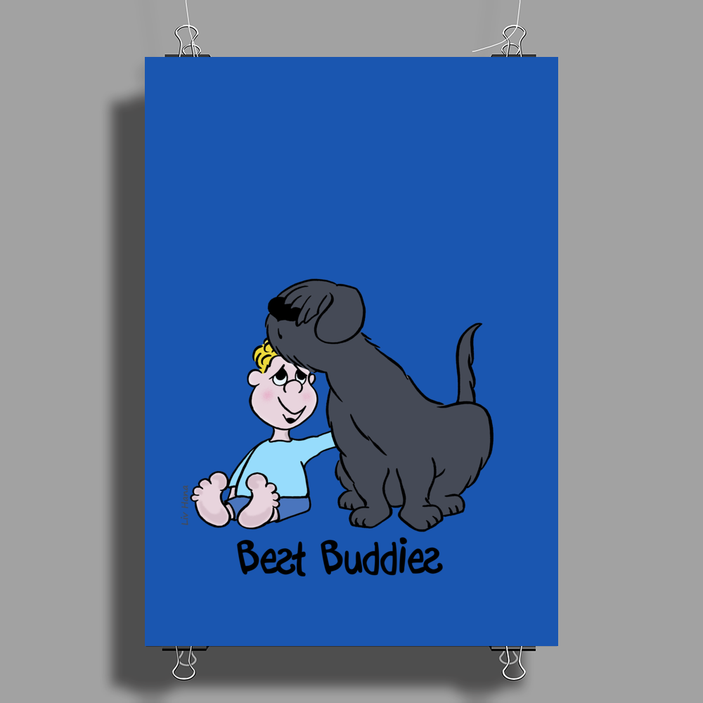 Best Buddies Poster Print (Portrait)