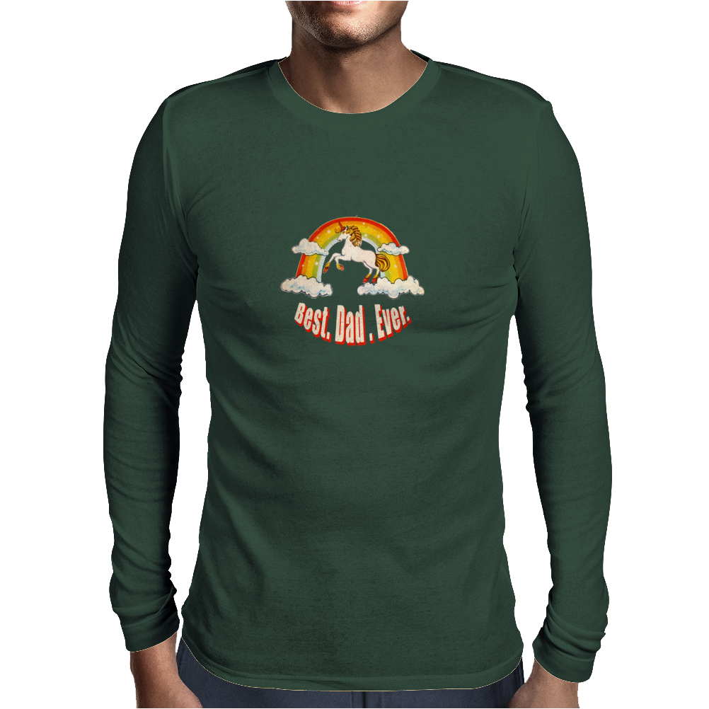 Best. Dad. Ever. Mens Long Sleeve T-Shirt