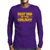 Best Dad in the Galaxy Mens Long Sleeve T-Shirt