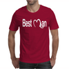 Best Man handcuffs funny bachelor Mens T-Shirt