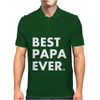 Best Papa Ever Mens Polo