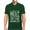 Best Sister Mens Polo