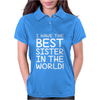 Best Sister Womens Polo