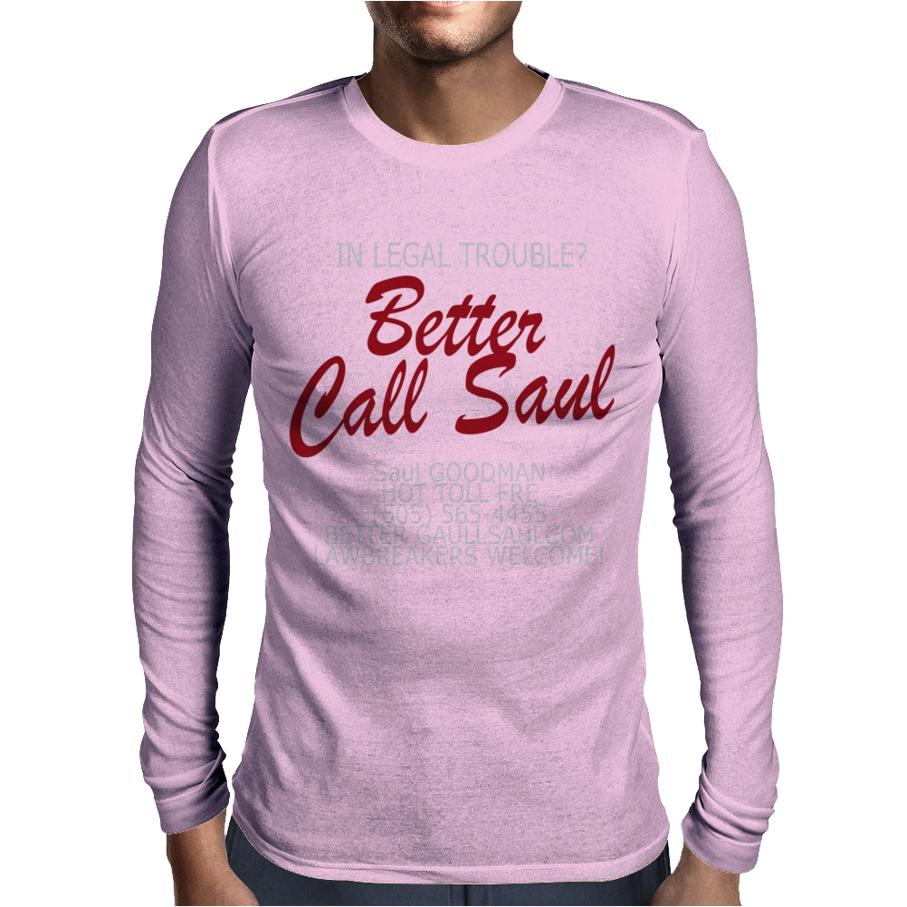 Better Call Saul Mens Long Sleeve T-Shirt