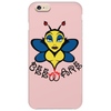 Beware of the Bee. Phone Case