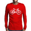 Bicycle Mens Long Sleeve T-Shirt
