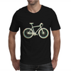 bicycle mountain bike retro colors Mens T-Shirt