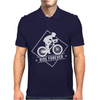 Bicycle Ride Forever Cycling Mens Polo