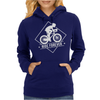 Bicycle Ride Forever Cycling Womens Hoodie