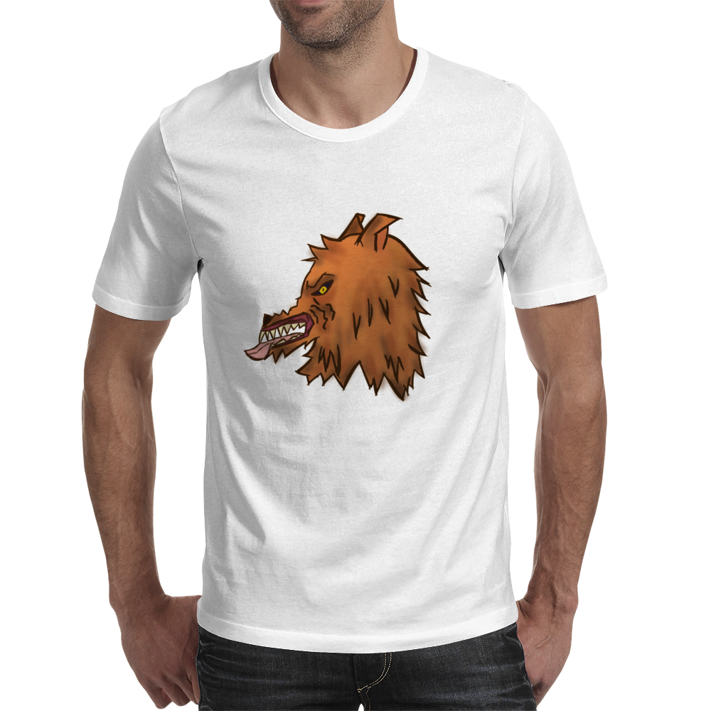 Big Bad Wolf Mens T-Shirt
