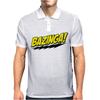 Big Bang Theory Bazinga - Sheldon Cooper Quote - TBBT - BBT - Penny, Leonard, Howard, Raj - BAZINGA! Mens Polo
