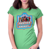 Big Bang Theory Justice League Womens Fitted T-Shirt