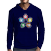 Big Bang Theory Sheldon Rock Mens Hoodie