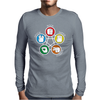 Big Bang Theory Sheldon Rock Mens Long Sleeve T-Shirt