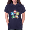 Big Bang Theory Sheldon Rock Womens Polo