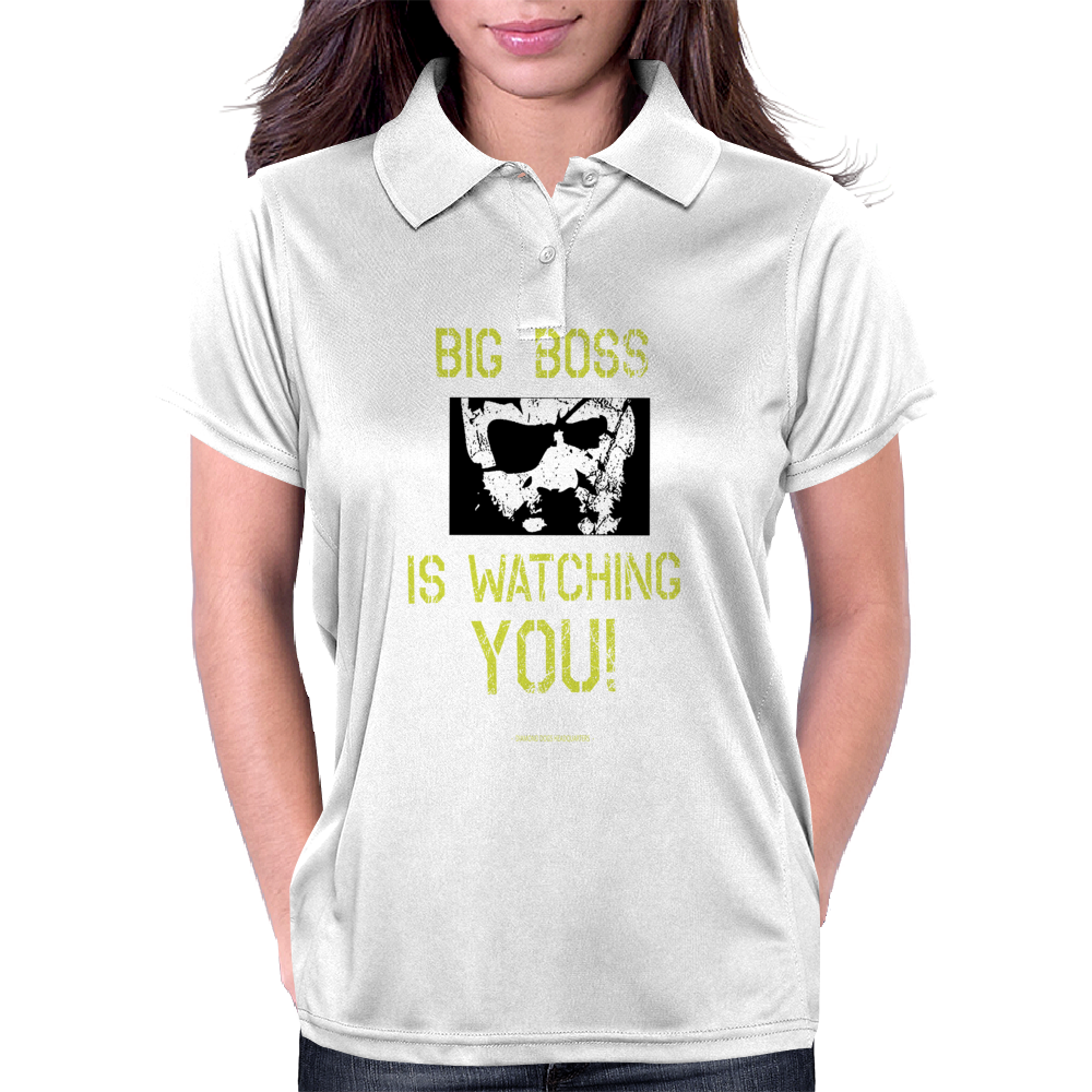 Big Boss is watching you Womens Polo