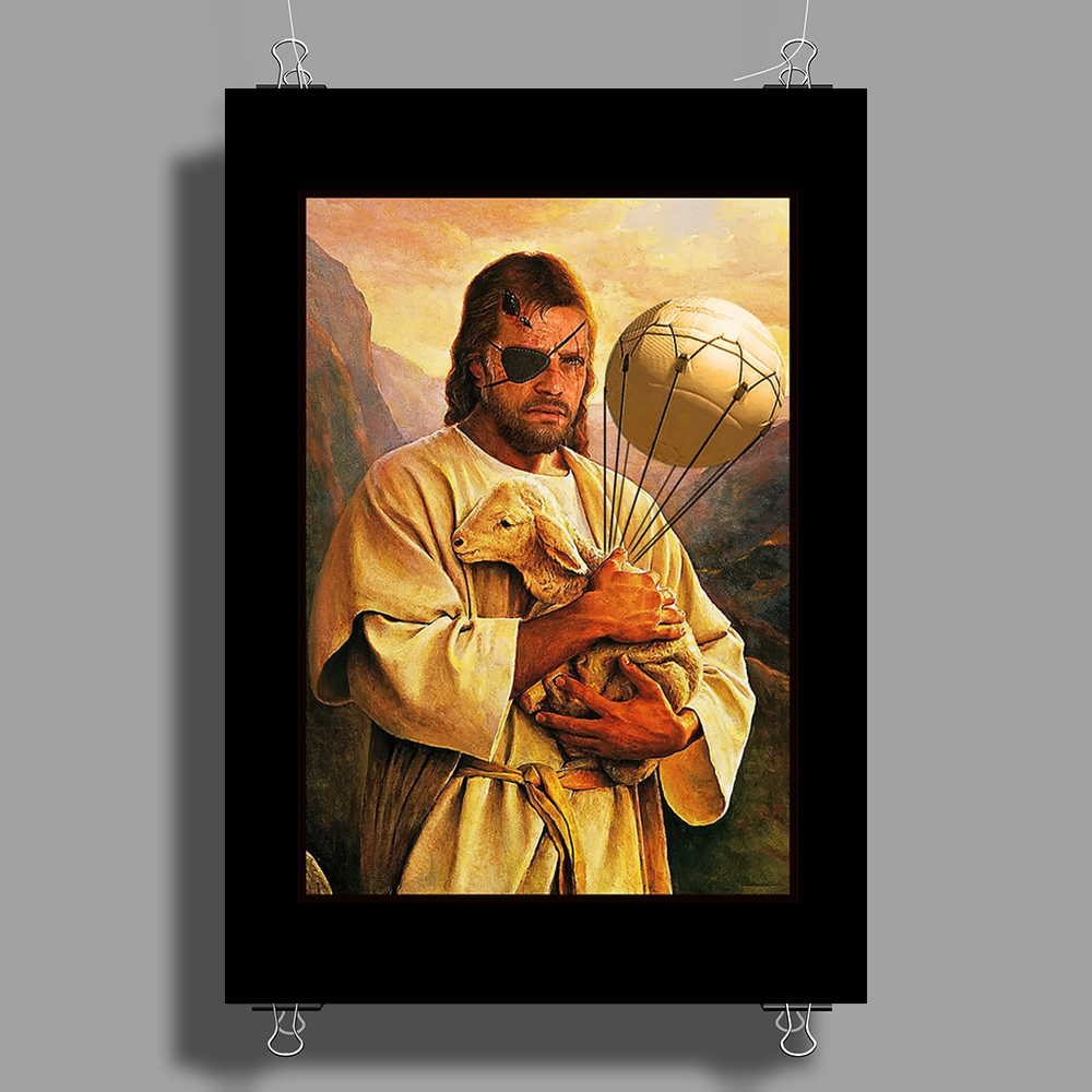 Big Boss Jesus - Metal Gear Poster Print (Portrait)