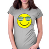 big celtic smiley Womens Fitted T-Shirt