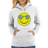 big celtic smiley Womens Hoodie