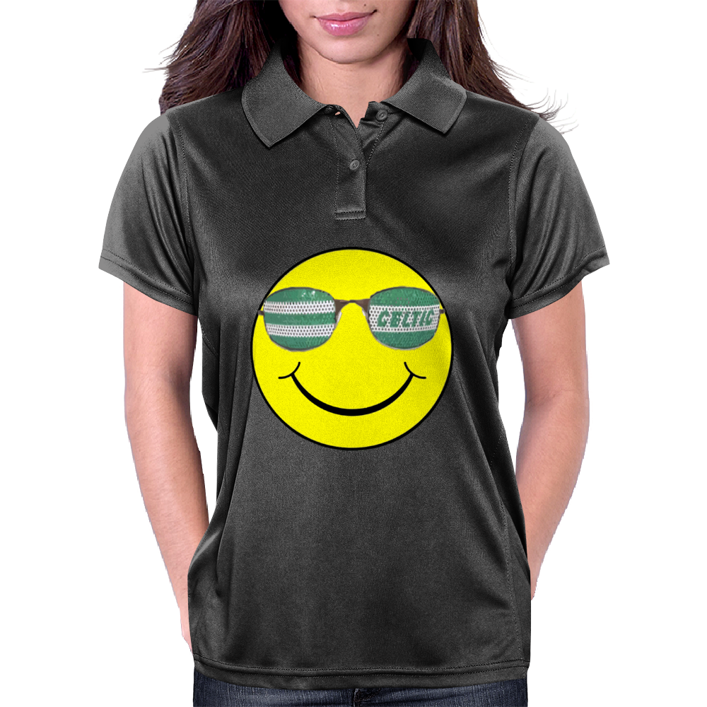 big celtic smiley Womens Polo