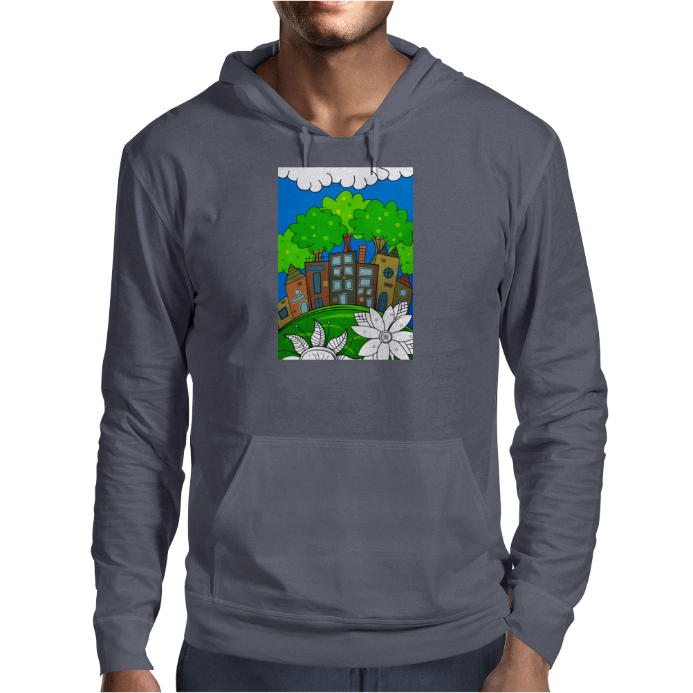 Big City Dreams Mens Hoodie