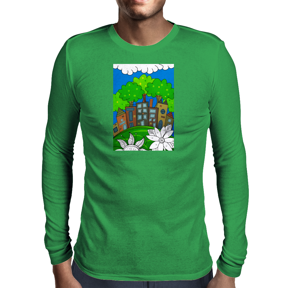 Big City Dreams Mens Long Sleeve T-Shirt