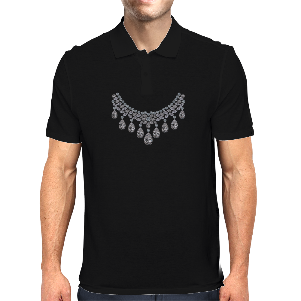 Big Diamonds Necklace Mens Polo