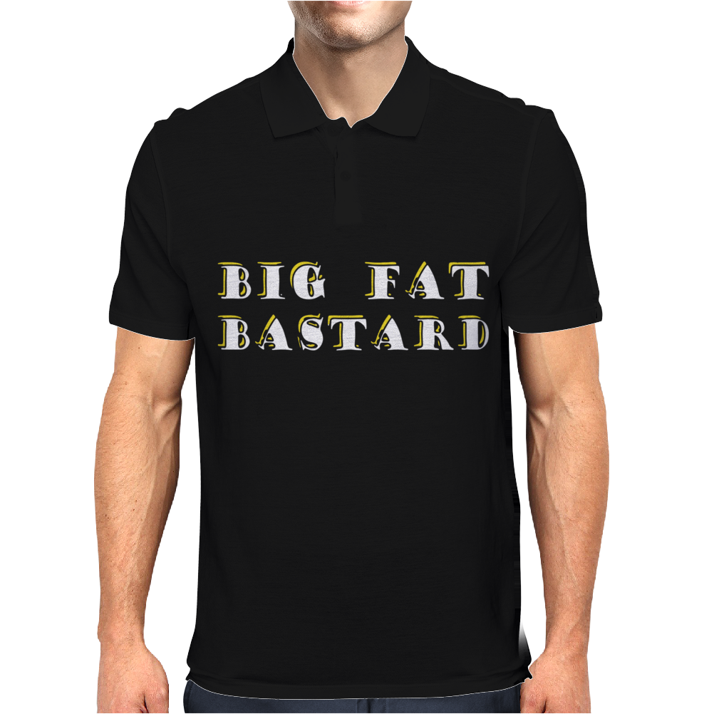 BIG FAT BASTARD Mens Polo