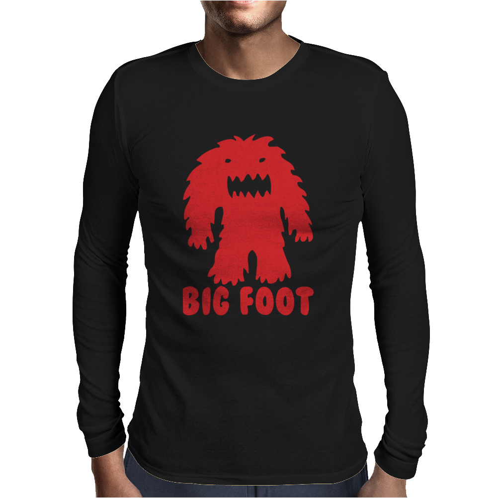 BIG FOOT Mens Long Sleeve T-Shirt