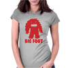 BIG FOOT Womens Fitted T-Shirt