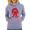 BIG FOOT Womens Hoodie