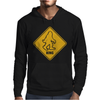 Big Foot Xing Big Foot Crossing Sasquatch Mens Hoodie