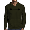 BIG HERO 6 BAYMAX EYES Mens Hoodie