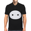 Big Hero 6 Baymax Head Eyes Mens Polo