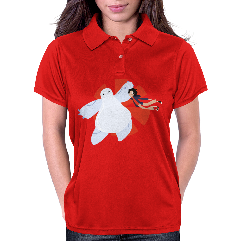 Big Hero 6 by lobatalobos Womens Polo