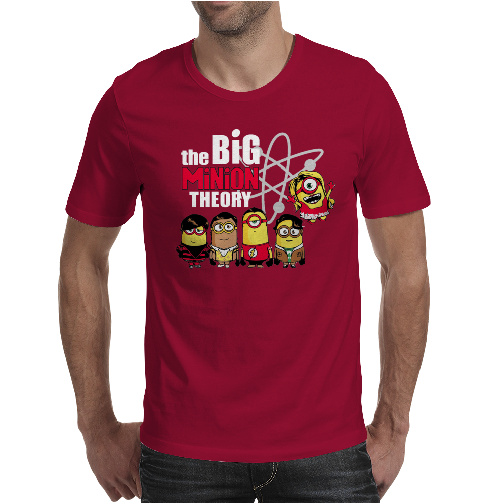 Big Minion Theory Herren Mens T-Shirt