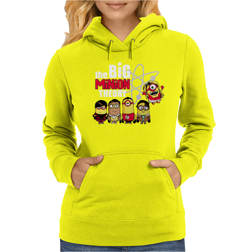 Big Minion Theory Herren Womens Hoodie