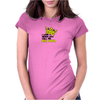 Big papa Funny Humor Geek Womens Fitted T-Shirt